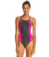 TYR Pink Viper Diamondfit One Piece Swimsuit