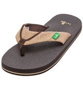 Sanuk Boys' Root Beer Cozy Flip Flop