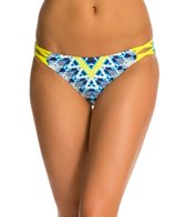 Red Carter Galactica Criss Cross Side Hipster Bikini Bottom
