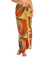 Indah Kanga Printed Cover Up Sarong