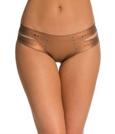 Indah Leo Neoprene Cut Out Side Hipster Bikini Bottom