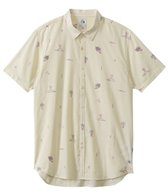 Quiksilver Men's Stranded Short Sleeve Shirt