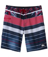 Quiksilver Men's YG Remix Stripe Boardshort