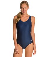 Waterpro Solid U-Back Conservative Fitness Swimsuit