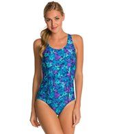 Waterpro Blossom Fit-Back Fitness One Piece Swimsuit