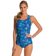 Waterpro Blossom Flex-Back Fitness One Piece Swimsuit