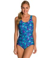 Waterpro Blossom U-Back Fitness One Piece Swimsuit