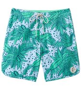 O'Neill Men's Santa Cruz Original Scallop Print Boardshort