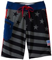 Volcom Boys' Merry Kuh Flag Boardshort (8yrs-16yrs)