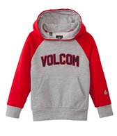 Volcom Boys' Riker Athletic Pullover Hoodie (2T-4T)