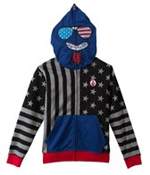 Volcom Boys' Merry Kuh Full Zip Hoodie (4yrs-7X)