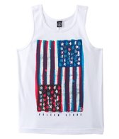 Volcom Boys' Colors Don't Bleed Flag Tank Top (8yrs-16yrs)