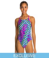SwimOutlet Exclusive Nike Energy Cut Out Tank Swimsuit