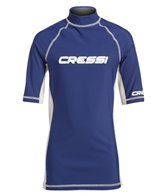 Cressi Boys' Classic Short Sleeve Rashguard (7yrs-15yrs)