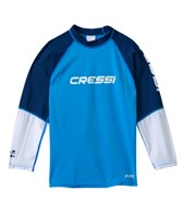 Cressi Boys' Rocks Long Sleeve Rashguard (7yrs-15yrs)