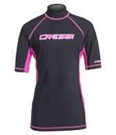 Cressi Girls' Classic Short Sleeve Rashguard (7yrs-15yrs)