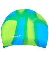 Sporti Long Hair Multi Silicone Swim Cap