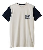 Billabong Men's Blocked EZ Up S/S Tee
