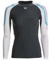 Arena Women's Carbon Compression Long Sleeve