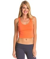 Canvas Women's Poly-Cotton Crop Workout Tank Top