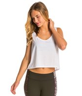 Canvas Women's Flowy Boxy Crop Top