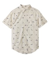 Rhythm Men's Catch A Wave Short Sleeve Shirt