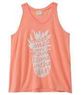 O'Neill Girls' In The Sun Graphic Tank (7-14yrs)