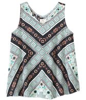 O'Neill Girls' Rene Woven Print Tank Top (7-14yrs)