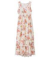 O'Neill Girls' Adrina Hi-Lo Ruffle Maxi Dress (7-14yrs)