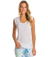 Alo Rolled Cuff Tunic Yoga Shirt