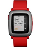 Pebble Time Smartwatch with Automatic Lap Counter