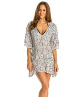 Vix Serpent Off White Malud Cover Up Caftan
