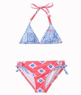 Roxy Girls' Sunset Swim Tri Two Piece Set (7yrs-16yrs)