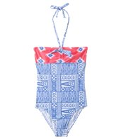 Roxy Girls' Sunset Bandeau One Piece (7yrs-16yrs)