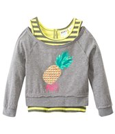 Roxy Girls' Cool Pineapple 2-Fer Tee (7yrs-16yrs)