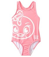 Angry Birds Stella Girls' Fly Girl Wide Strap Swimsuit (4yrs-6X)