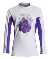 Angry Birds Stella Girls' Flawlessly Fearless Long Sleeves Rash Guard (10yrs-16yrs)