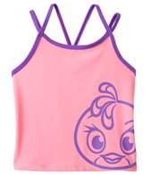Angry Birds Stella Girls' Power Double Cross Tankini Top (7yrs-16yrs)