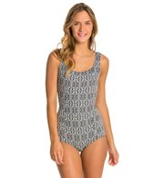 Seea Tofino Black Porto One Piece Swimsuit