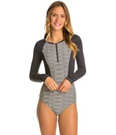 Billabong GI Geo LS Rashguard One Piece Swimsuit