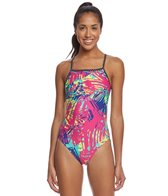 Sporti Strokes Thin Strap Swimsuit