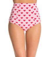 Kingdom & State Heart Bombshell High Waisted Bottom