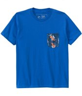 Rip Curl Boys' Rerum Pocket S/S Tee (8yrs-14yrs)