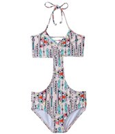 Billabong Girls' Surf Tribe Cut Out One Piece (4yrs-14yrs)