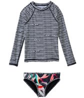 Billabong Girls' Aloha Love L/S Rashguard Set (4yrs-14yrs)