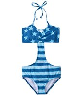 Billabong Girls' American Beautiful Cut Out One Piece (4yrs-14yrs)