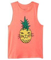 Billabong Girls' Cattitude Muscle Tee (4yrs-14yrs)