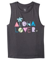 Girls' Aloha Lover Muscle Tee (4yrs-14yrs)