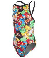 Angry Birds Don't Worry, Be Angry Thin Strap Swimsuit Youth