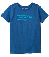 Billabong Boys' Branded S/S Logo Tee (2T-7yrs)